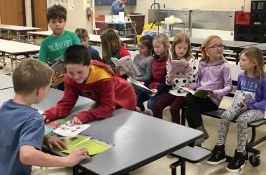 RSVP OES Literacy project — first books, Spring 20